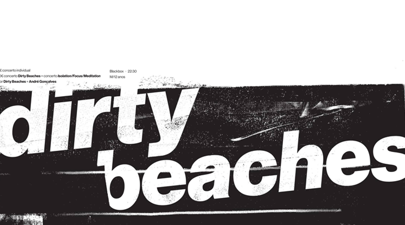 Dirty Beaches amanhã em Braga no GNRation