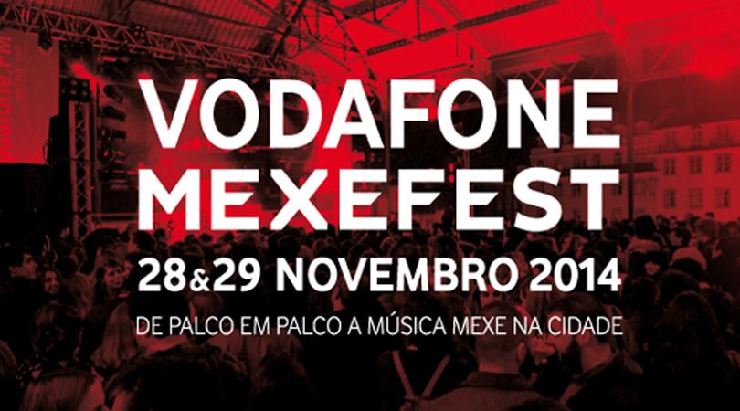 Vodafone Mexefest: Vê aqui os horários