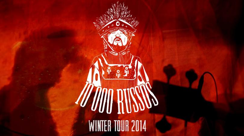 10000 Russos com tour ibérica