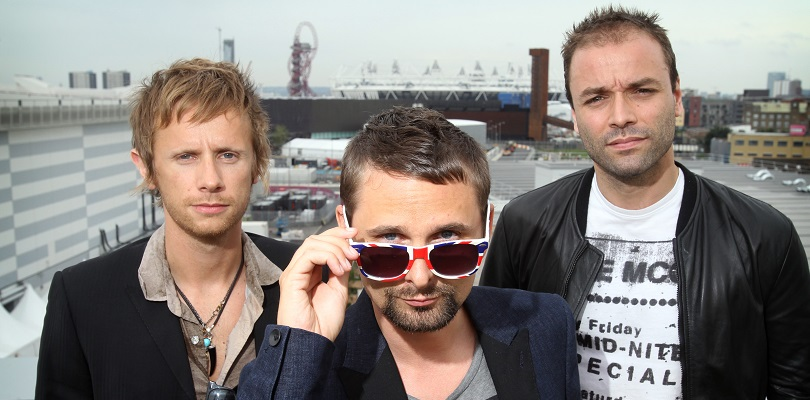 Muse visit Main Press Centre for one month to go