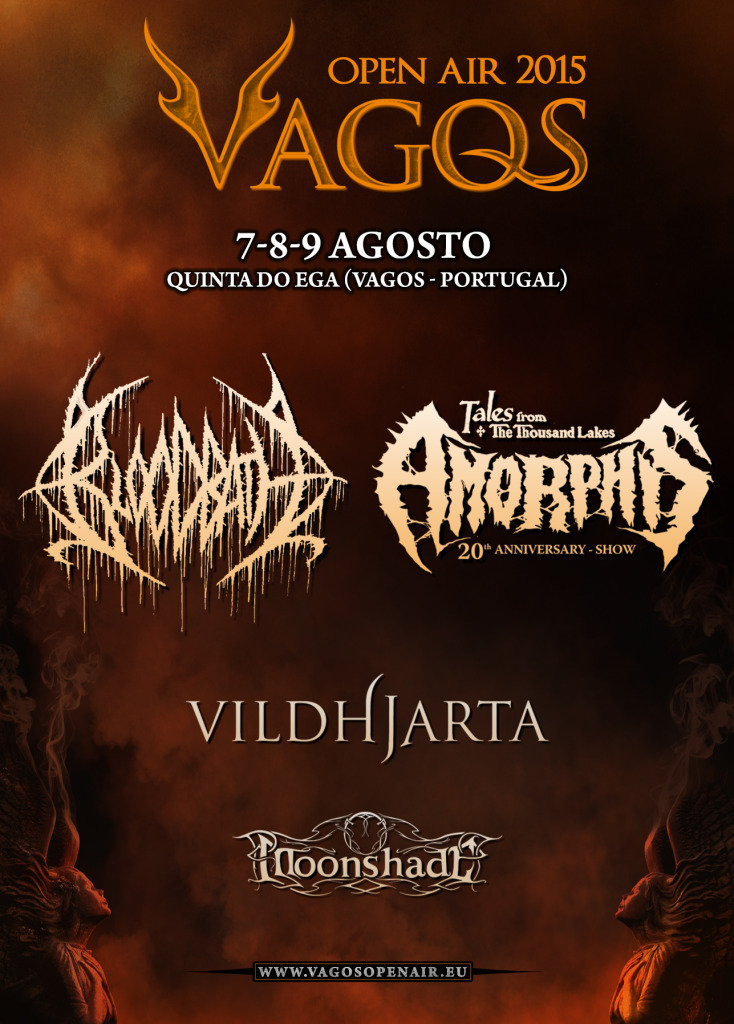 Vagos Open Air 2015 cartaz