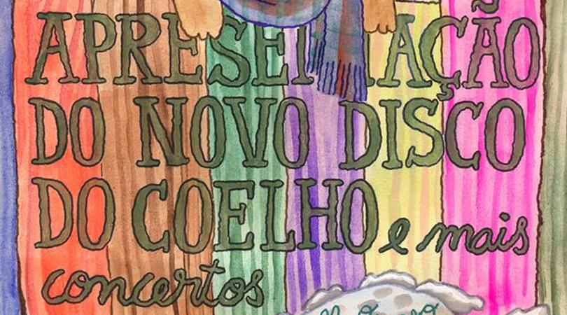 Coelho Radioactivo apresenta novo álbum amanhã no Maus Hábitos