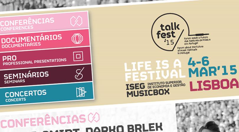 TalkFest começa já amanhã