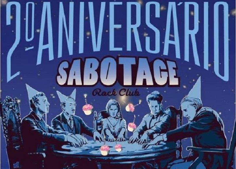 Sabotage Club celebra o 2º aniversário esta semana