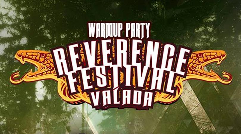 Warm Up Party do Reverence Valada no início de junho