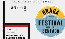 Festival Para Gente Sentada • Horários disponíveis