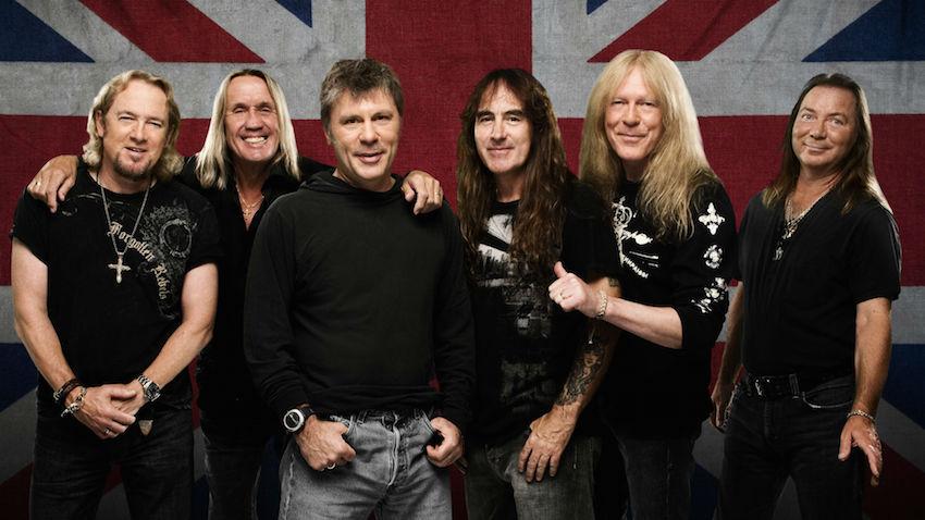 Iron Maiden regressam a Portugal em 2016