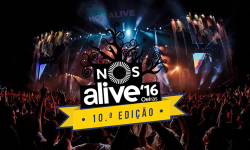 NOS Alive'16 – Cartaz