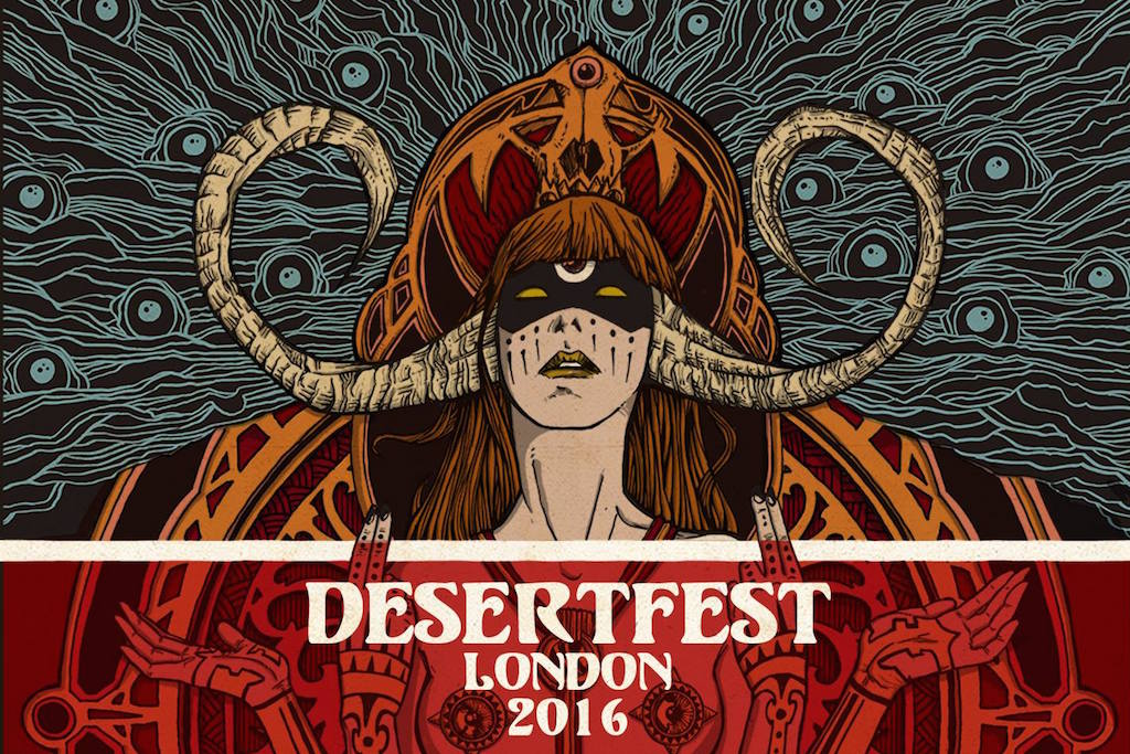 O deserto pantanoso de Camden • Desertfest London 2016 Preview