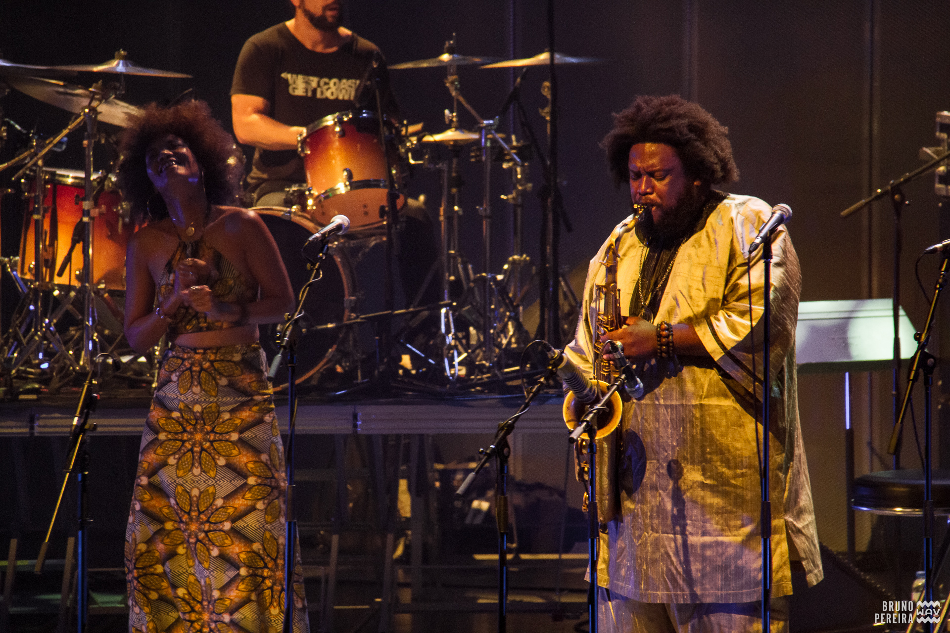 Kamasi Washington - Casa da Música, Porto [6Jun2016] Texto + Fotos