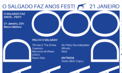 Passatempo • Ganha bilhetes para O Salgado Faz Anos… FEST!