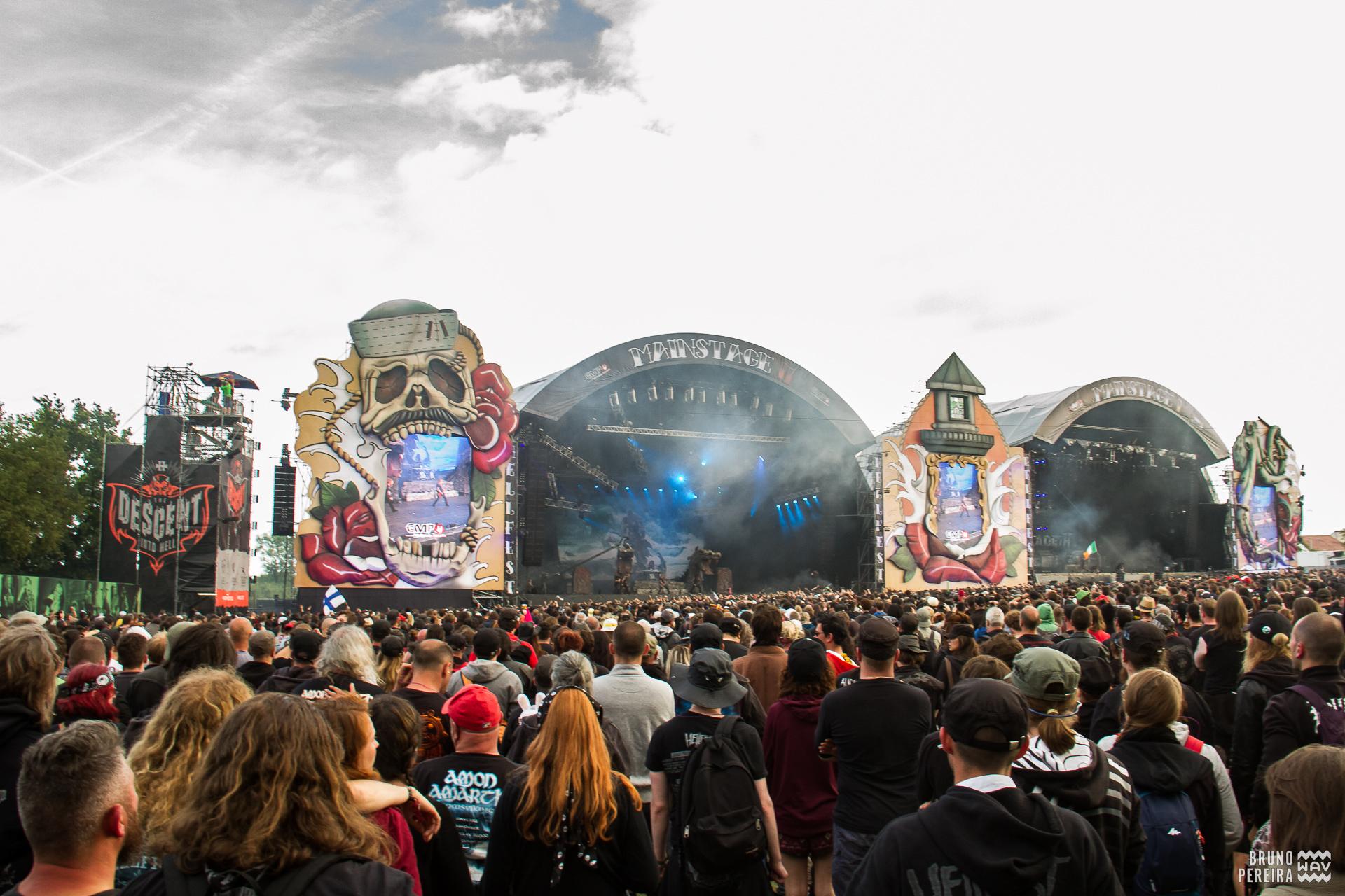 Hellfest 2017 • Playlist dos palcos principais