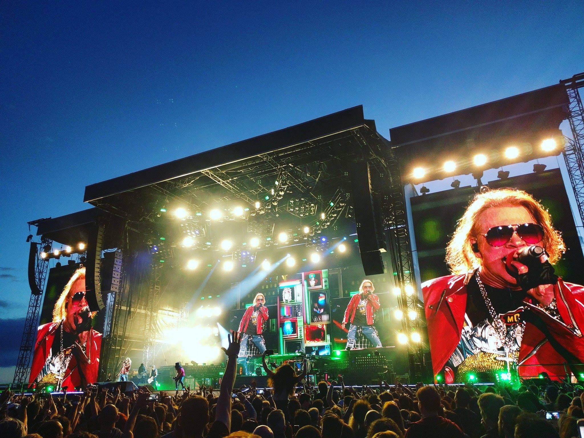 Guitarrista do Guns N' Roses revela planos para novo álbum do grupo