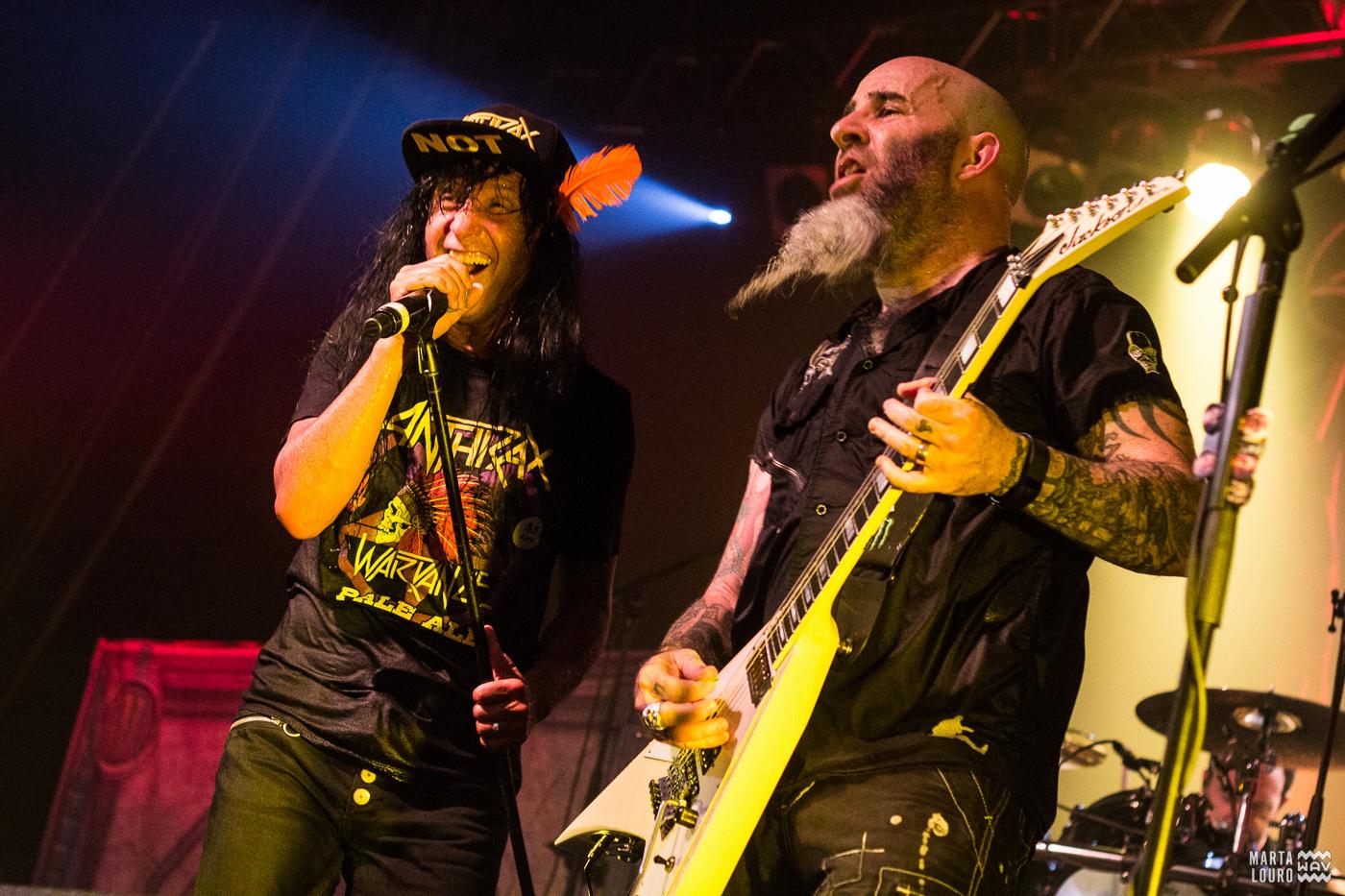 Anthrax - Cine-Teatro de Corroios [5Jul2017] Foto-reportagem