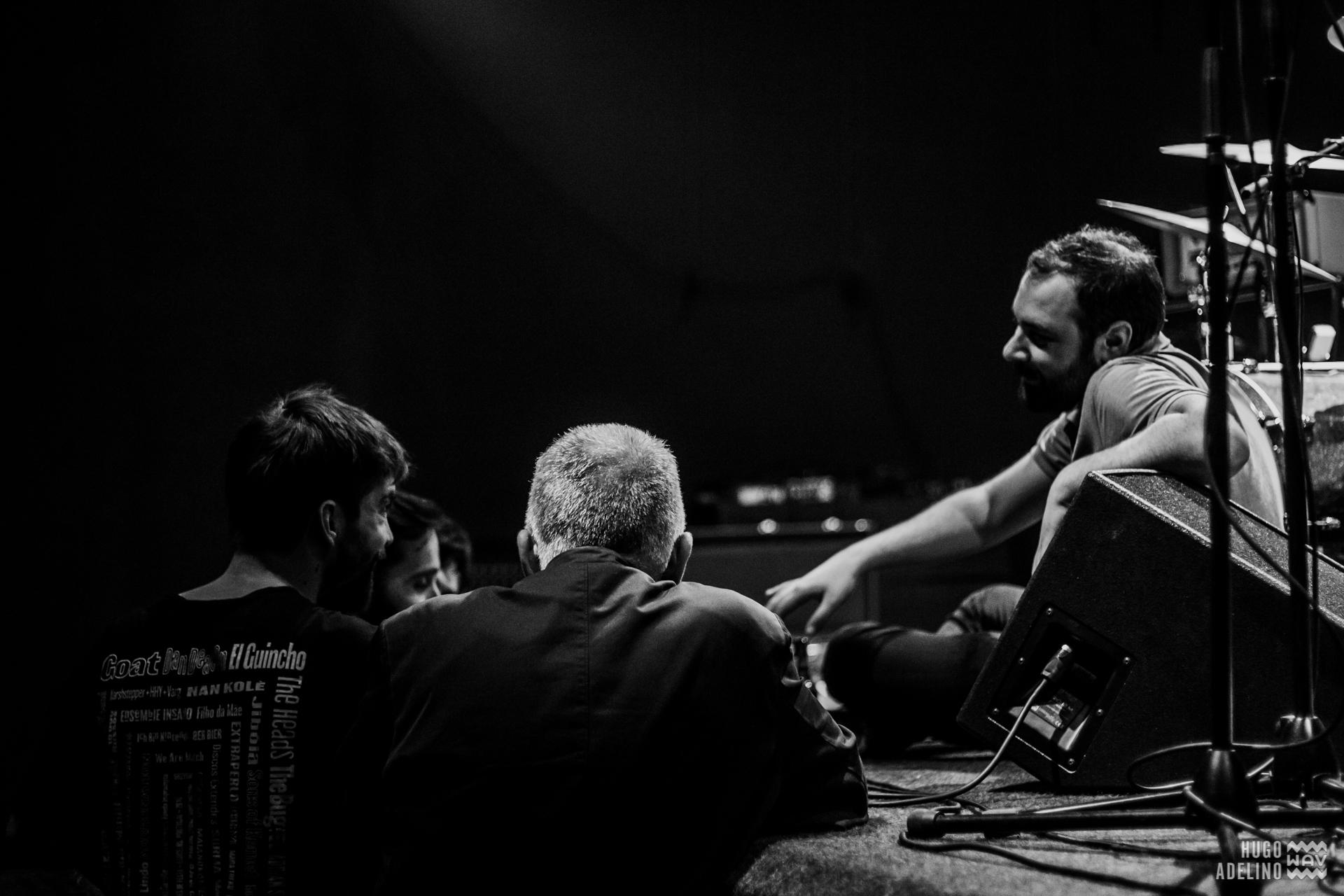 Black Bombaim & Peter Brötzmann - Passos Manuel, Porto [26Out2017] Foto-reportagem