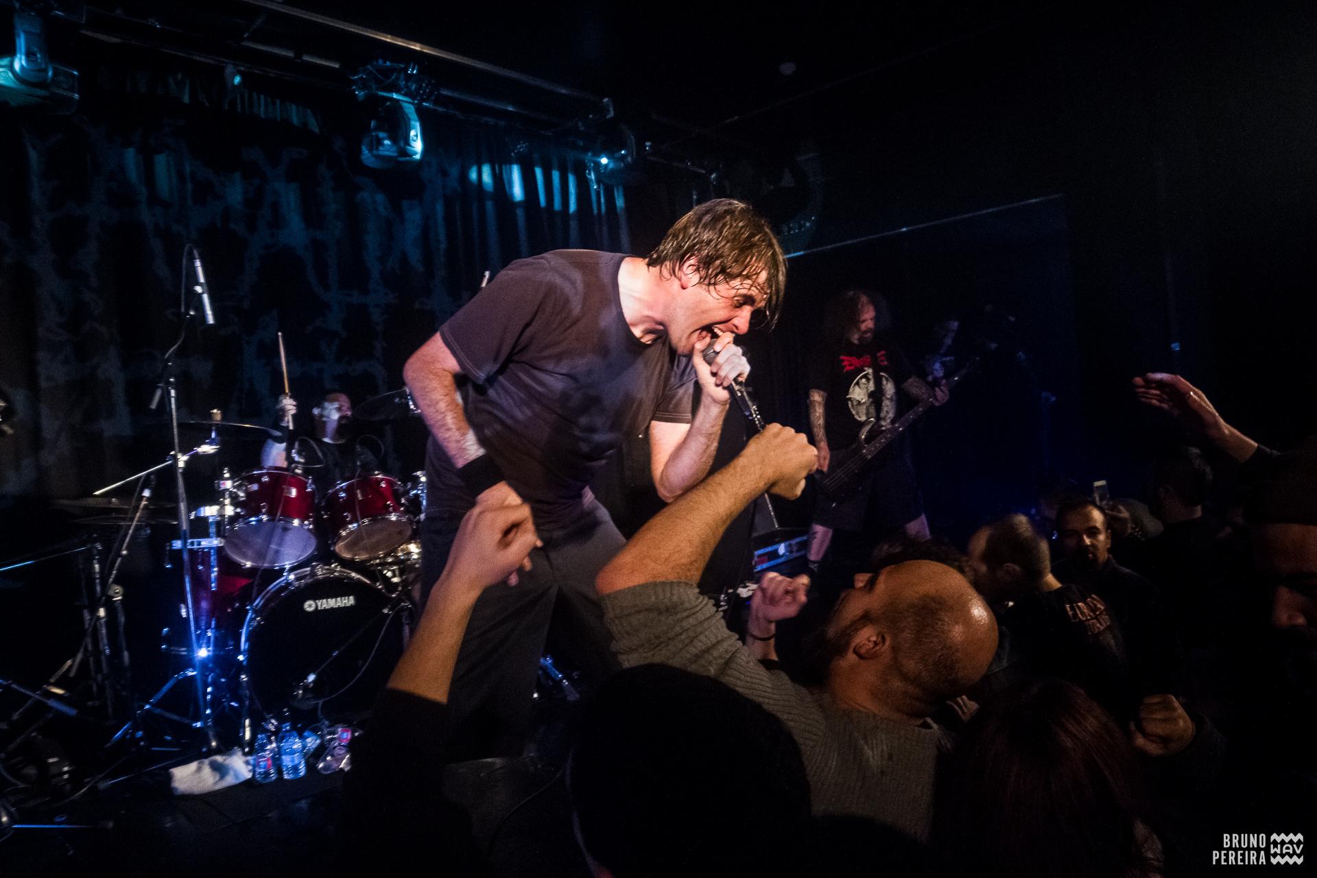 Napalm Death - Hard Club, Porto [10Dez2017] Foto-reportagem