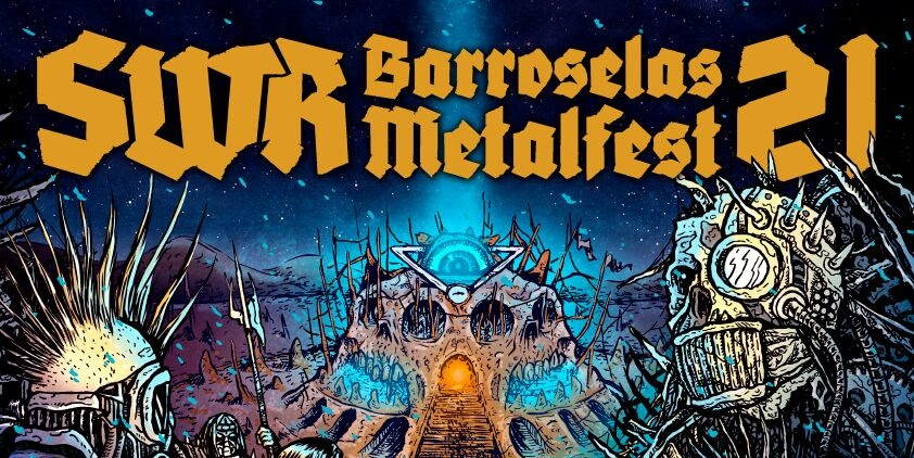 SWR Barroselas Metalfest 2018 • Playlist do Guerreiro