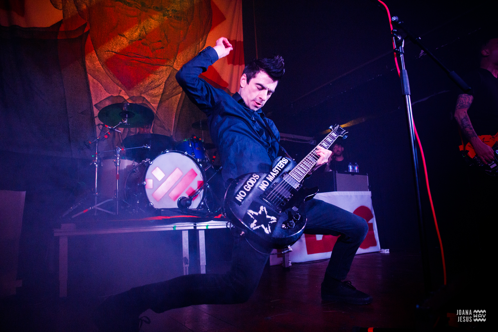 Anti-Flag - RCA Club, Lisboa [8Jan2020] Foto-reportagem