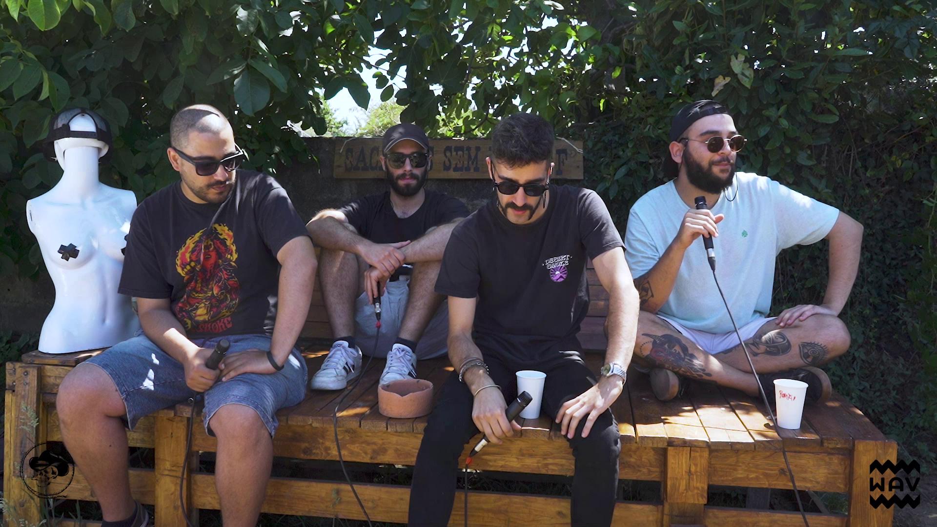 EVOKE COLLECTIVE x WAV apresentam Sacanas Sem Layoff - Desert'Smoke em Entrevista