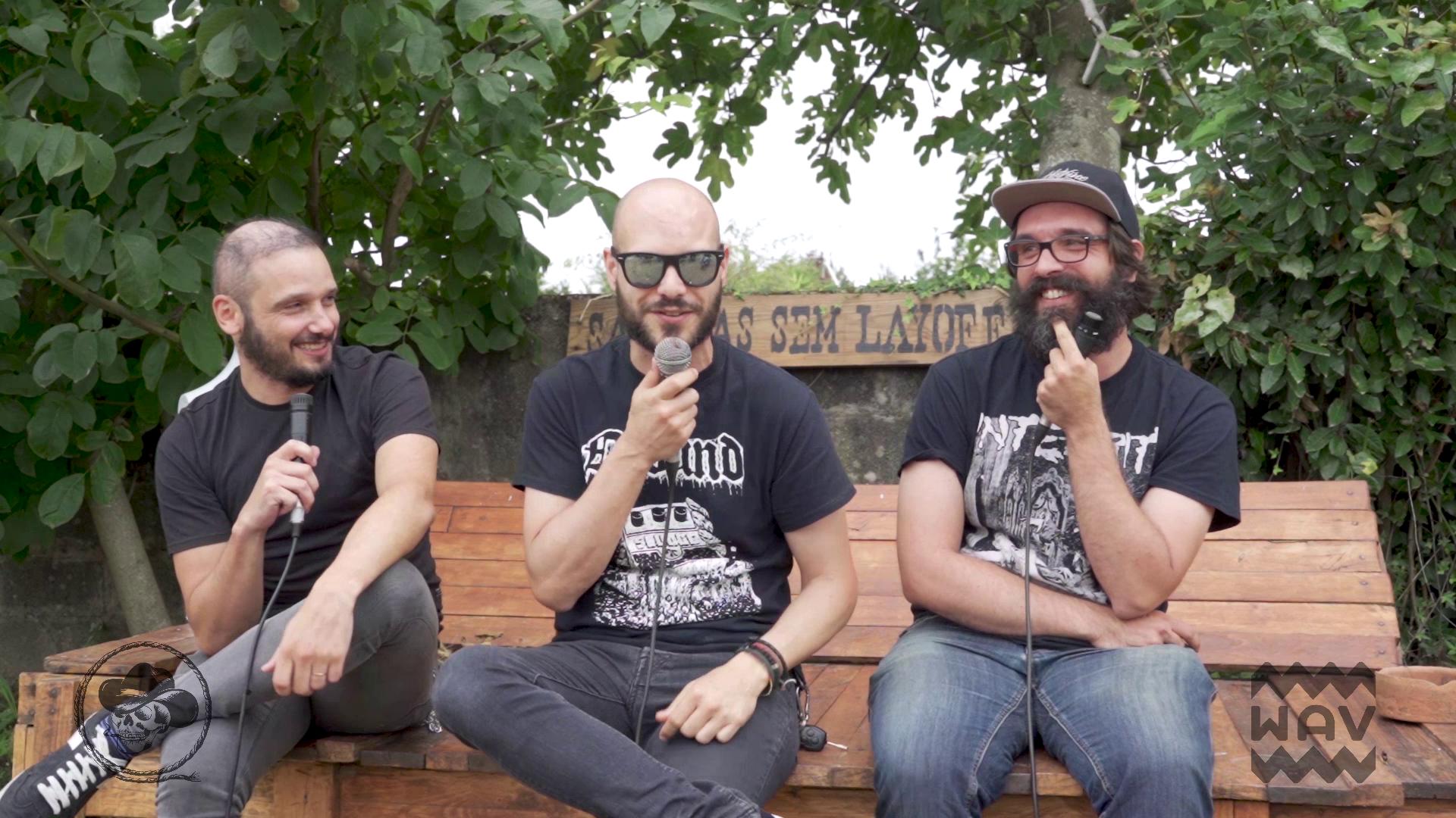 EVOKE COLLECTIVE x WAV apresentam Sacanas Sem Layoff - Soul of Anubis em Entrevista